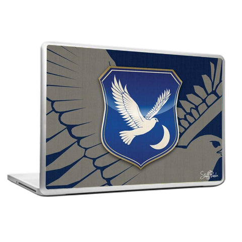 Cool Abstract Game of thrones House Arryn Laptop cover skin vinyl decals
