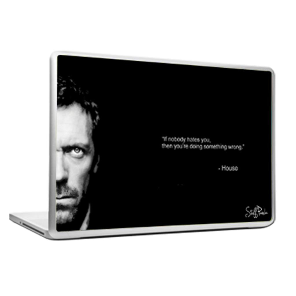 Cool Abstract House MD If nobody hates Laptop cover skin vinyl decals - stuffpanda - 1