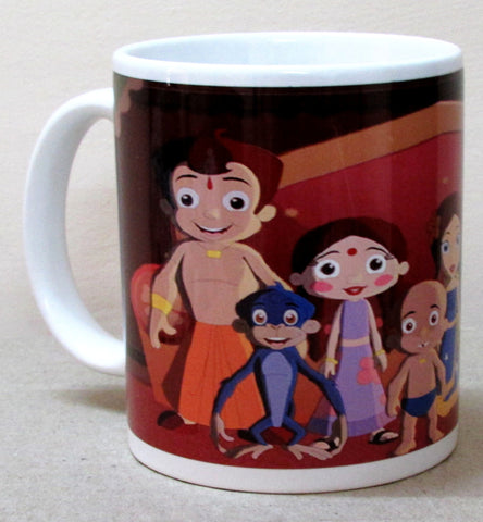 MUG - Chhota Bheem Dholakpur - colorful design - ceramic mug
