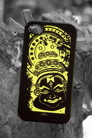 Designer dance Kathakalli Hard back cover / case for Iphone 4 / 4S