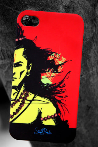 Design God funky cool Lord Rama hard back cover / Case for Iphone 4 / 4S