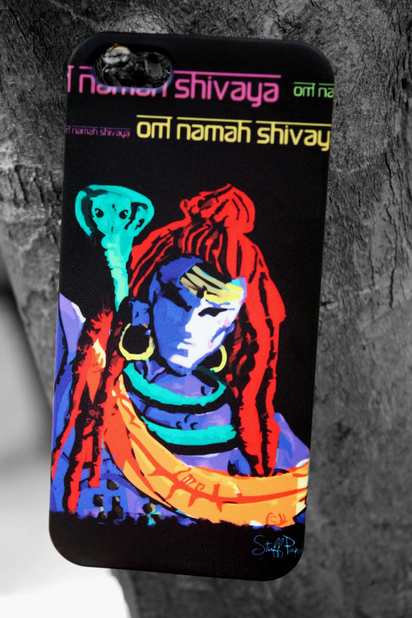 Designer cool funky Lord Shiva Hard back cover / case for Iphone 5 / 5S - stuffpanda - 1