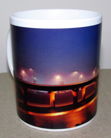 MUG - Lovely graphic Evening Sea Link - colorful design - beautiful Eevninng Sea Link- ceramic mug