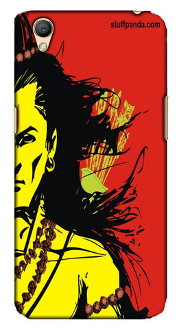 Cool Funky Lord Rama Red mobile case of Oppo A37F