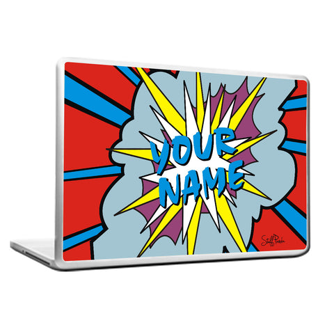 Cool Funny Abstract Customised POP Laptop cover skin vinyl decals
