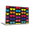 Cool Abstract Sunglasses many Laptop cover skin vinyl decals - stuffpanda - 1