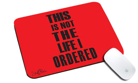 Cool design Funny This is NOT the natural rubber mouse pad - stuffpanda