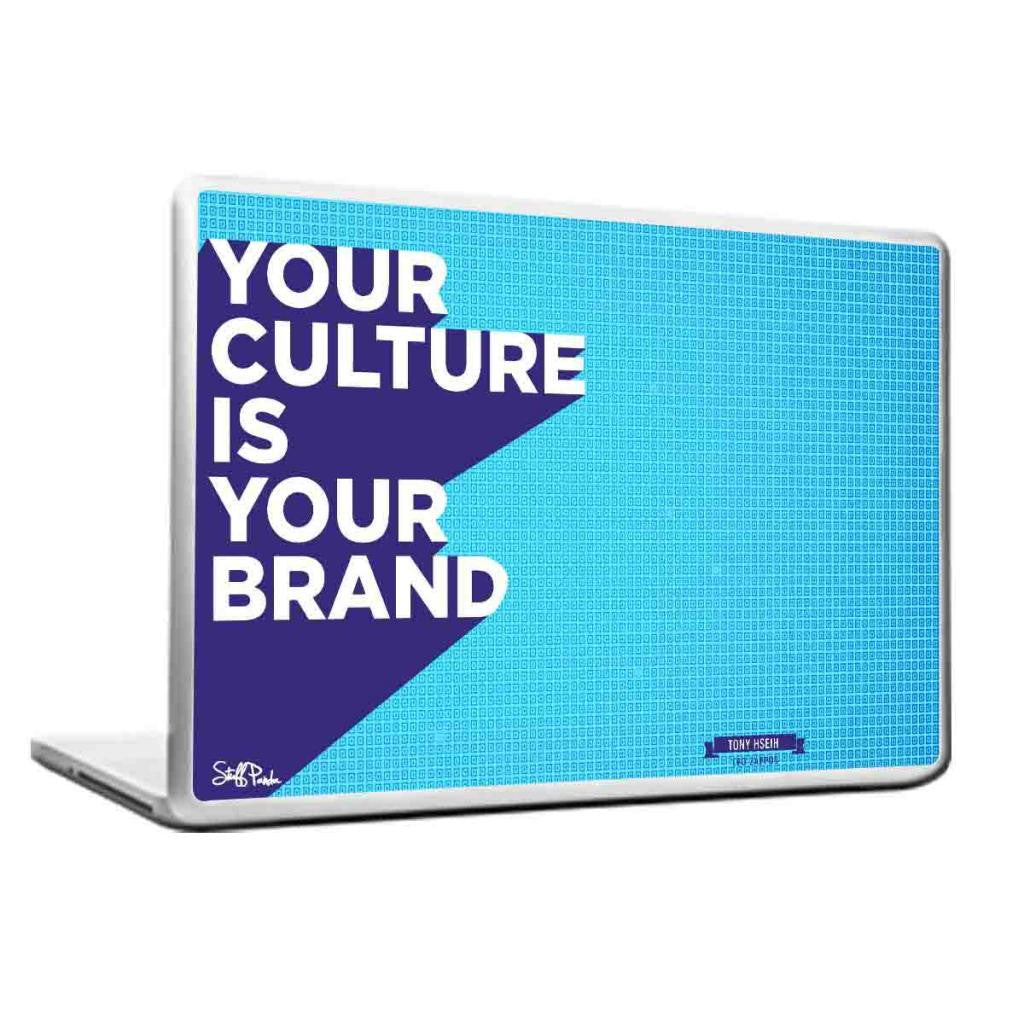 Cool Abstract Motivation Your Culture Laptop cover skin vinyl decals - stuffpanda - 1