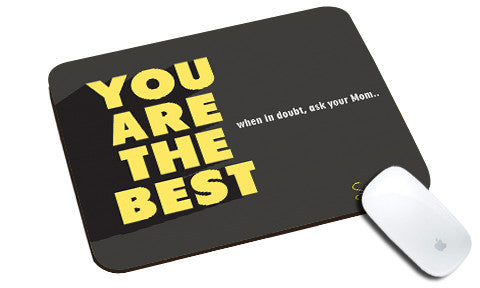 Cool design Motivational Be Yourself natural rubber mouse pad - stuffpanda