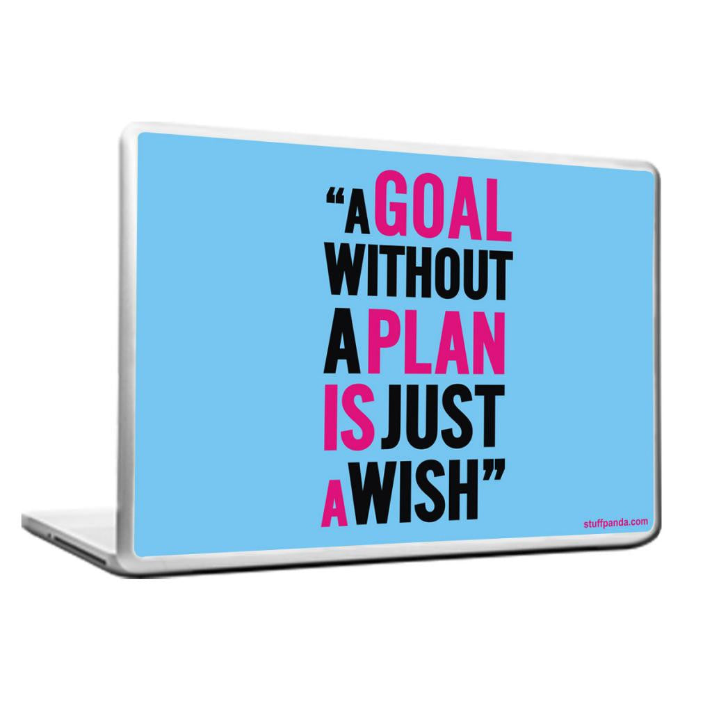 Cool Abstract Motivation A Goal without Laptop cover skin vinyl decals - stuffpanda - 1