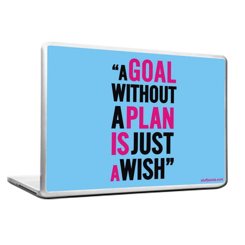 Cool Abstract Motivation A Goal without Laptop cover skin vinyl decals