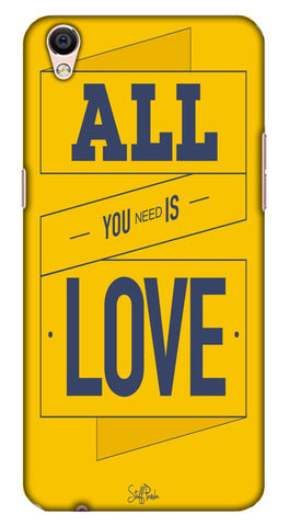 Cool Funky All You Need Love mobile case for Oppo F1 Plus