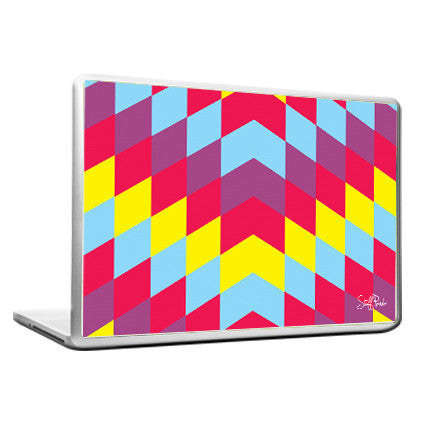 Cool Abstract Arrow upwards pattern Laptop cover skin vinyl decals - stuffpanda - 1