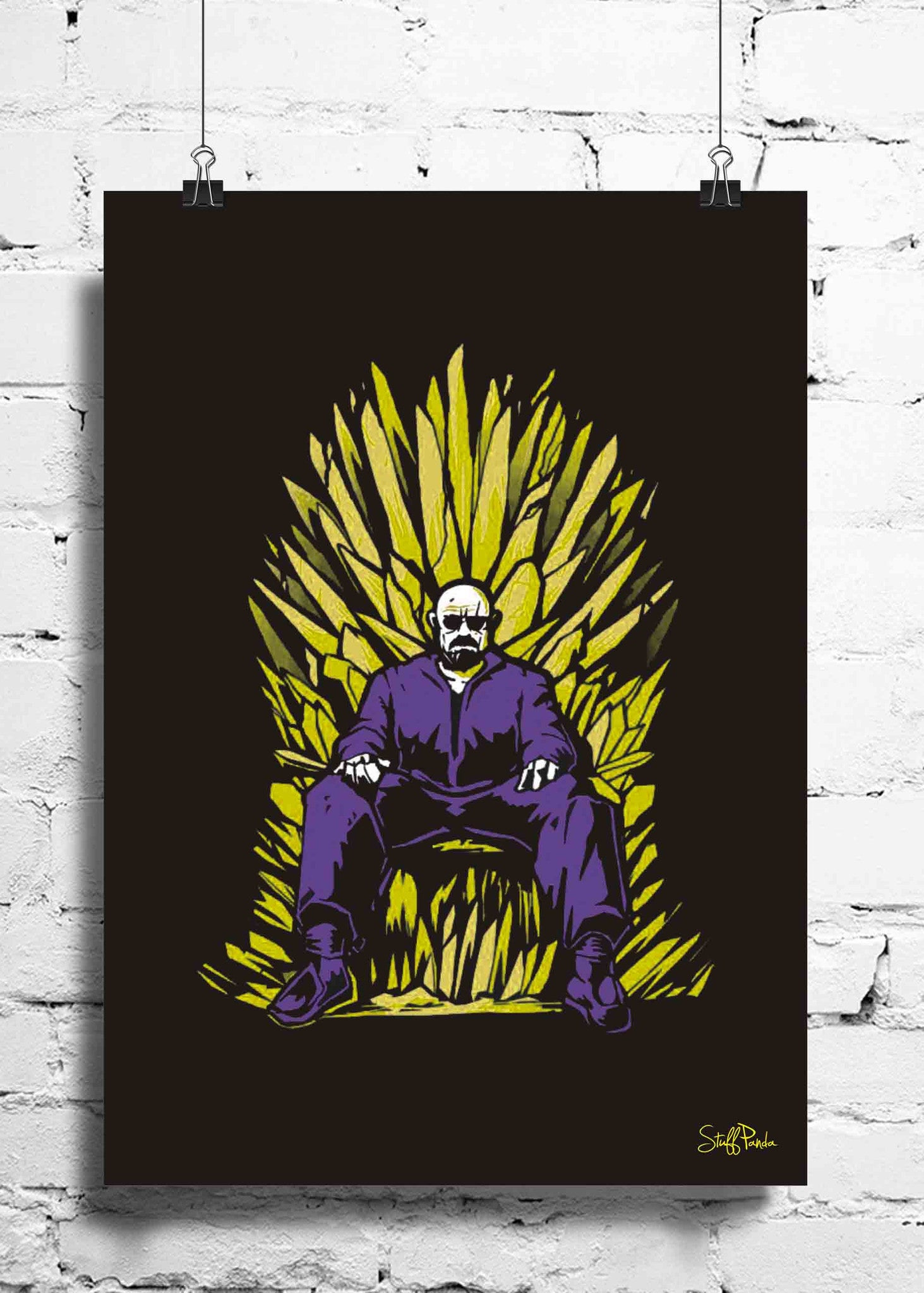 Cool funky breaking bad throne wall posters art prints stickers cool funky breaking bad throne wall posters art prints stickers decals stuffpanda amipublicfo Choice Image