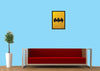 Cool Funky Abstract Batman shutter Glass frame posters Wall art - stuffpanda - 2