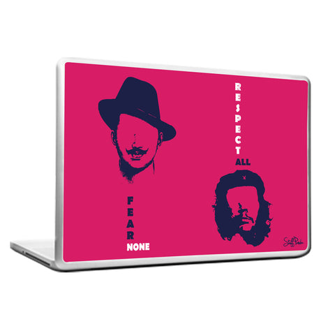 Cool Funky Bhagat Motivational CheGuevara Laptop skin vinyl decals Pink
