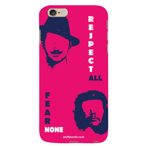 Designer Cool funky Bhagat Singh hard back cover / case for Iphone 6 plus