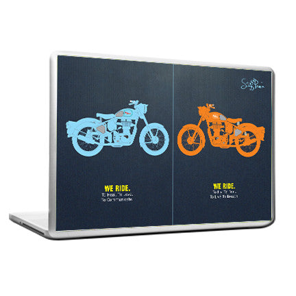 Cool Abstract Royal Bullet Bike Laptop cover skin vinyl decals