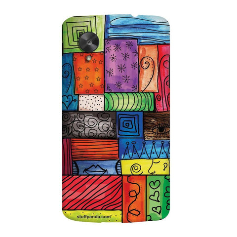 Designer Cool funky Color Grill hard back cover / case for Nexus 5