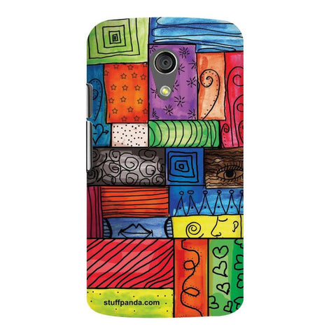 Designer Cool funky Color Grill hard back cover / case for Moto G2