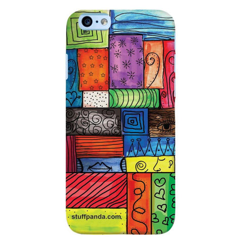 Designer Cool funky Color Grill hard back cover / case for Iphone 6