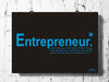 Cool Funky Motivational Business Entrepreneur wall posters, art prints, stickers decals B n blue - stuffpanda - 1