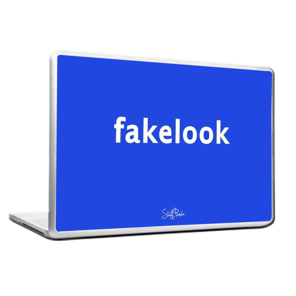 Cool Abstract Funny Facebook Facelook Laptop cover skin vinyl decals - stuffpanda - 1