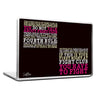 Cool Abstract Motovation Fight club rules Laptop cover skin vinyl decals - stuffpanda - 1