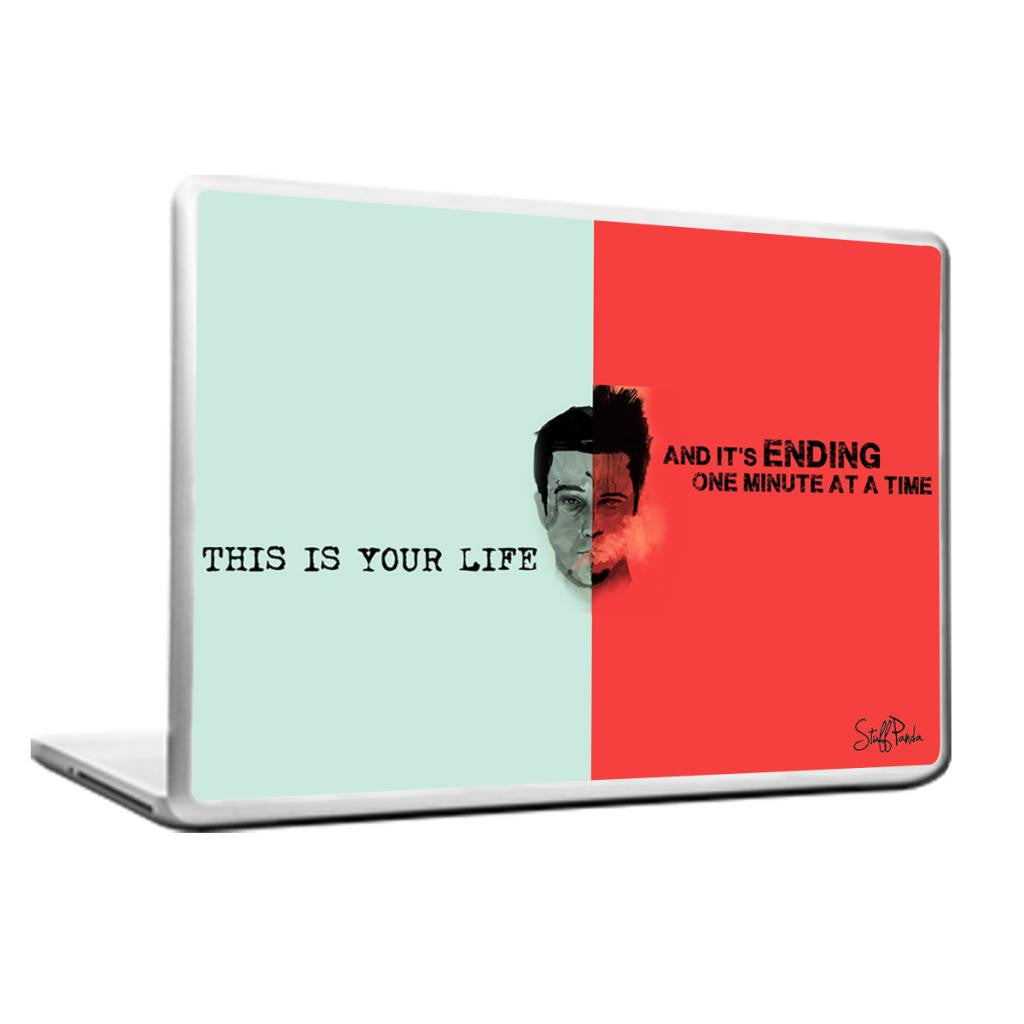 Cool Abstract Inspiring Fight club This is your Laptop cover skin vinyl decals - stuffpanda - 1