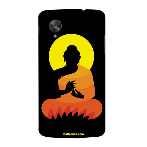 Designer Cool Ethnic Gautam Buddha hard back cover / case for Nexus 5