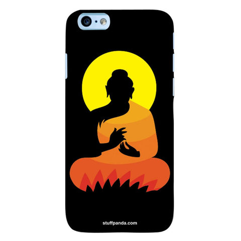 Designer Cool funky Gautam Buddha hard back cover / case for Iphone 6