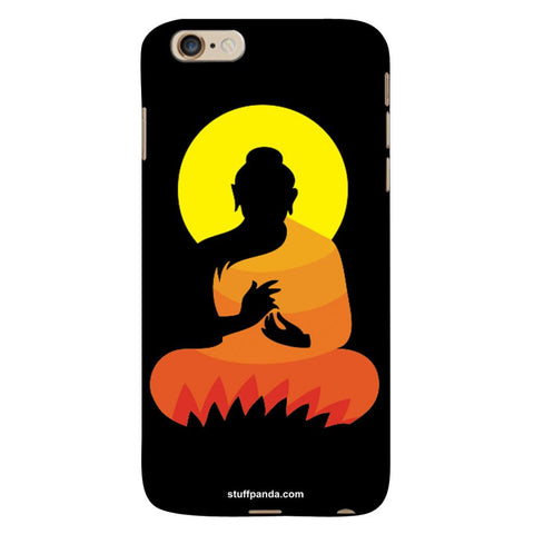 Designer Cool funky Gautam Buddha hard back cover / case for Iphone 6 plus