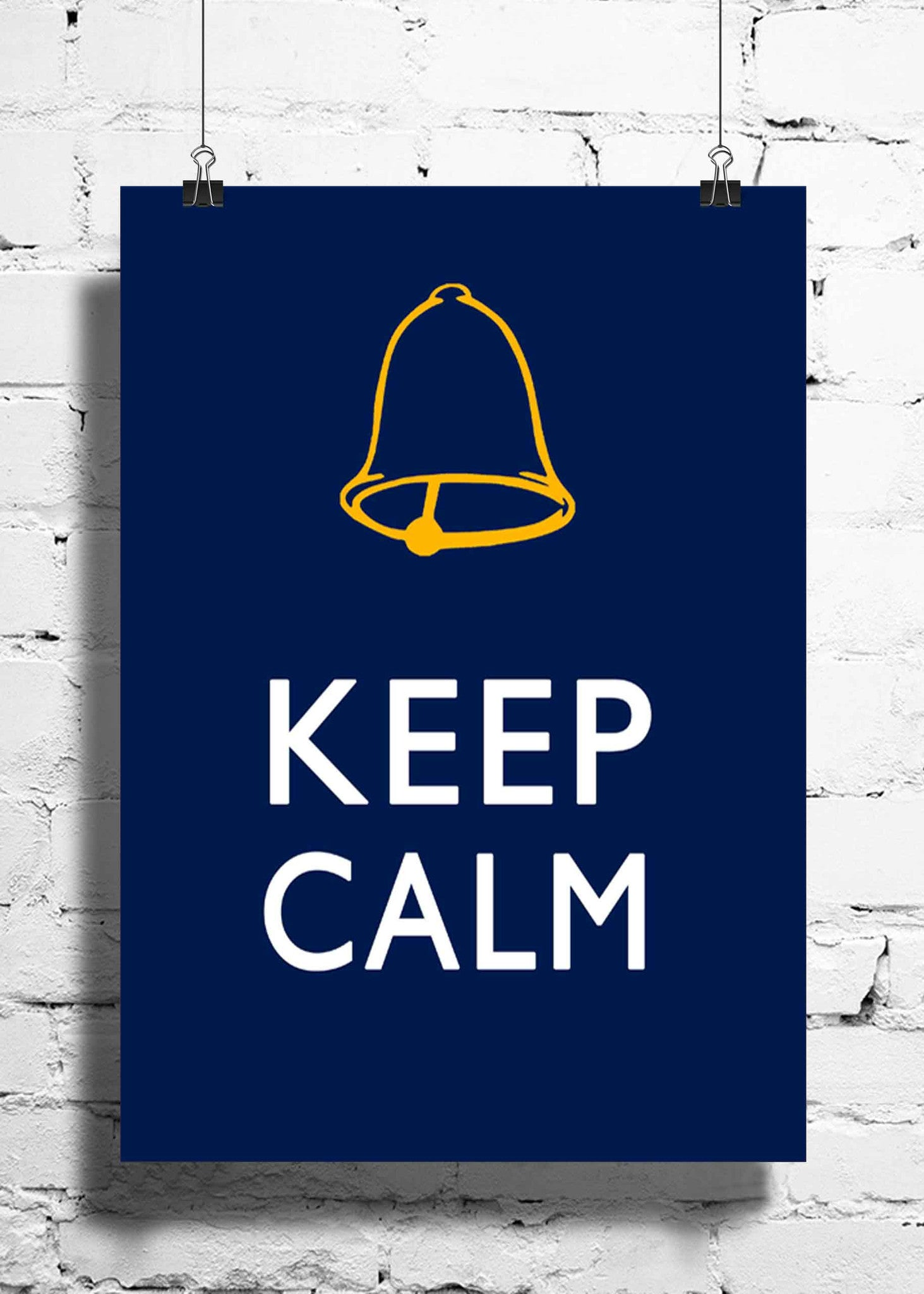 Cool Abstract Funny Ghanta Keep Calm wall posters, art prints, stickers decals - stuffpanda - 1