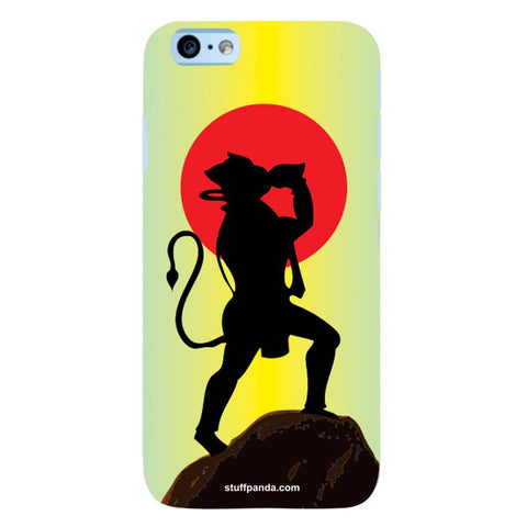 Designer Cool funky Hanuman hard back cover / case for Iphone 6