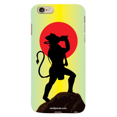 Designer Cool funky Hanuman hard back cover / case for Iphone 6 plus