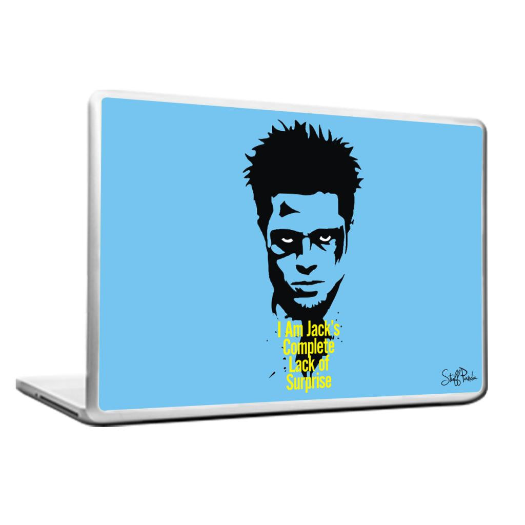 Cool Abstract Fight club Im Jacks Laptop cover skin vinyl decals - stuffpanda - 1