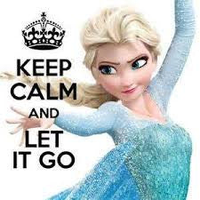 Cool Abstract Let it Go Keep calm Elsa wall posters, art prints, stickers decals