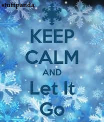 Cool Abstract Funky Let it Go Keep calm wall Wall Glass Frame posters Wall art