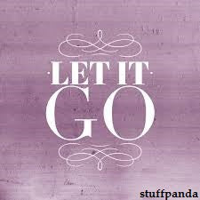 Cool Abstract Let it Go violet wall Wall Glass Frame posters Wall art