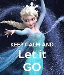 Cool Abstract Let it Go Frozen wall posters, art prints, stickers decals