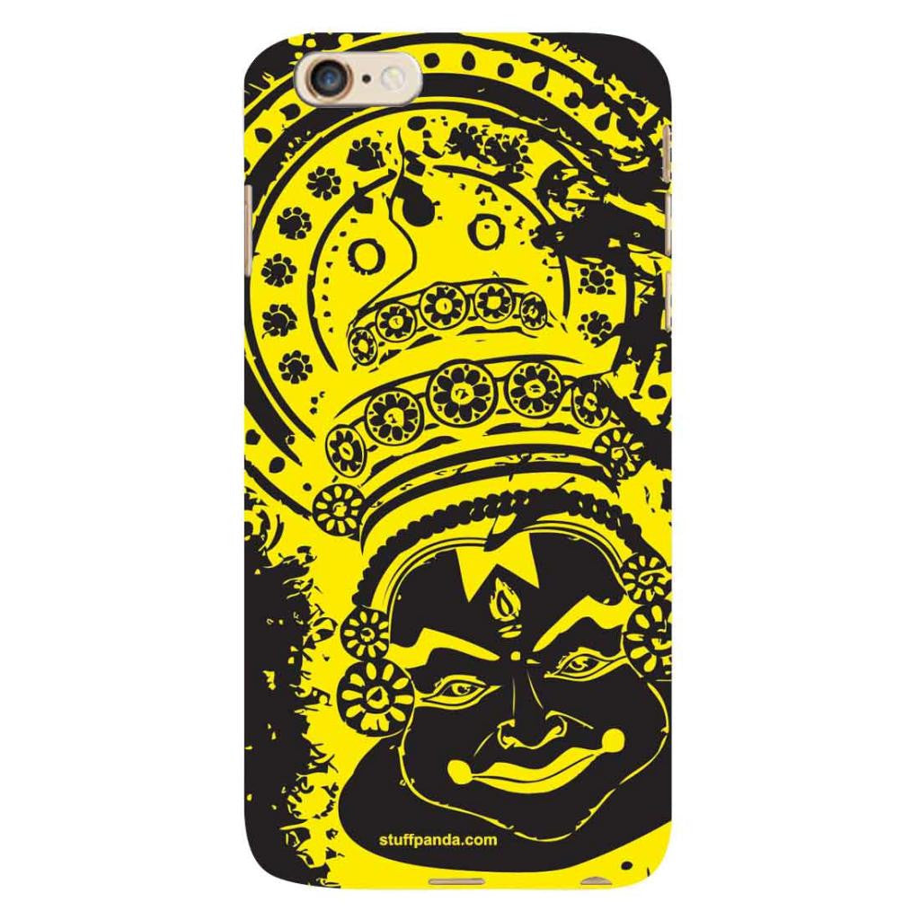 Designer Cool Ethnic Kathakali hard back cover / case for Iphone 6 plus - stuffpanda - 1