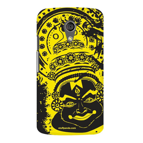 Designer Cool Ethnic Kathakali hard back cover / case for Moto G2