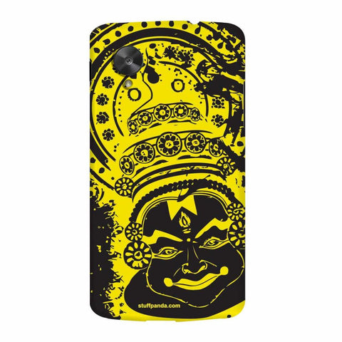 Designer Cool Ethnic Kathakali hard back cover / case for Nexus 5