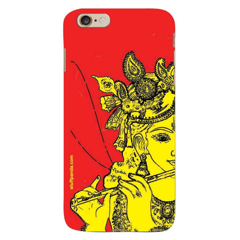 Designer Cool funky Krishna hard back cover / case for Iphone 6 plus