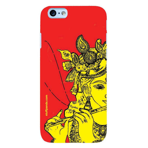 Designer Cool funky Krishna hard back cover / case for Iphone 6