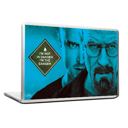 Cool Funky Breaking Bad Laptop skin vinyl decals 2 faces