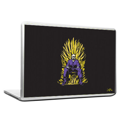 Cool Funky Breaking Bad Throne Laptop skin vinyl decals - stuffpanda - 1