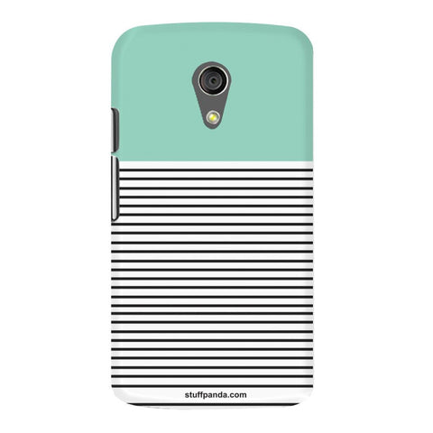 Designer Cool funky Lines hard back cover / case for Moto G2