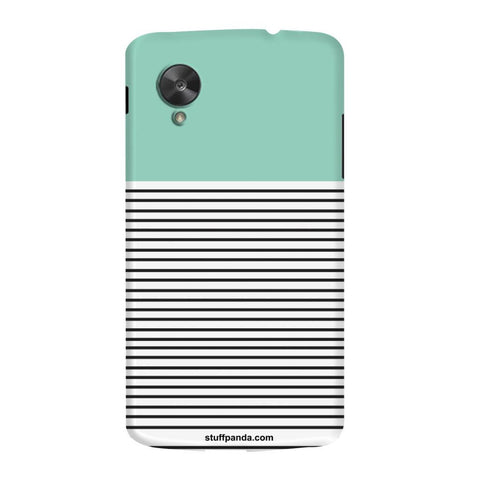 Designer Cool funky Lines hard back cover / case for Nexus 5