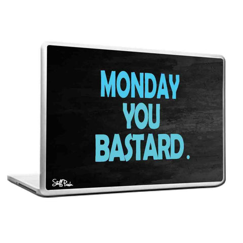 Cool Abstract Funny Humour Monday you Laptop cover skin vinyl decals